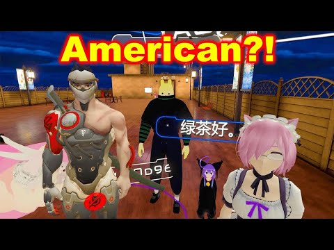 American Sneaks Into VRChat CHINA with Perfect Mandarin, Hilarity Ensues