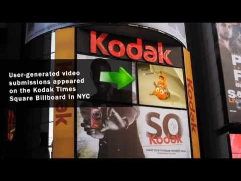 Social connect facebook - Kodak's strategy was to engage users in Times Square and make them aware of the Kodak brand vis-a-vis DOOH, mobile and social media (in particular Facebook)....