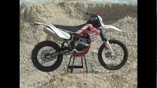 7. 2013 Gas Gas 250f enduro bike tested for TMX news & Dirtbike rider at Fat cat moto parc