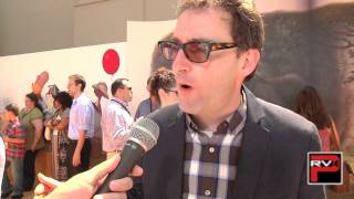 Tom Kenny voice of Rabbit at Winnie The Pooh Premiere