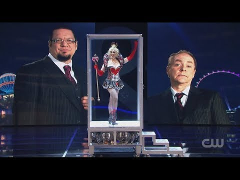 Penn & Teller - The Real Queen Of Hearts