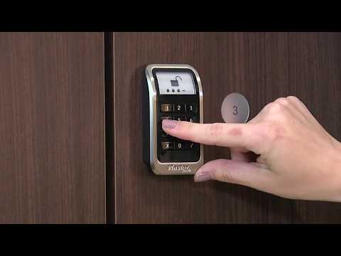 3685 Electronic Built-In Locker Lock User Instructions