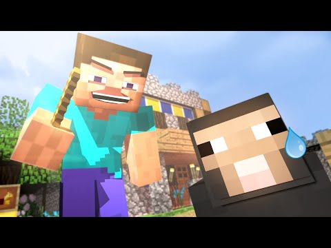 PewDiePie And Water Sheep (Minecraft Animation)