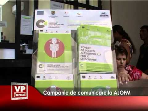Campanie de comunicare la AJOFM