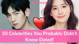 Video 50 Korean Celebrities That You Probably Don't Know Dated MP3, 3GP, MP4, WEBM, AVI, FLV Agustus 2018