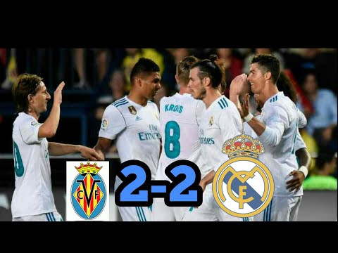Real Madrid Vs Villareal 2-2 Hasil Bola Tadi Malam 19-5-2018.HD