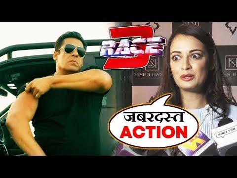 Video Dia Mirza Reaction On Salman Khan's RACE 3 Trailer download in MP3, 3GP, MP4, WEBM, AVI, FLV January 2017