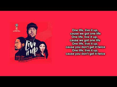 Live It Up FIFA World Cup 2018 RUSSIA Theme Song Lyric Video