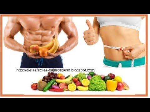 Dieta para bajar de peso -  Dietas adelgazantes  Dieta facil para bajar de peso