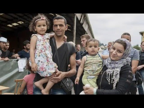 Offering welcome and hospitality to refugees