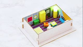 video thumbnail [play my room] Studio Planning/Furniture Arranging Kit for Children (Educational Toys / Italian Retr youtube