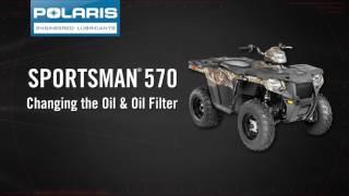 9. Polaris Sportsman Oil Change - Polaris Off Road Vehicles