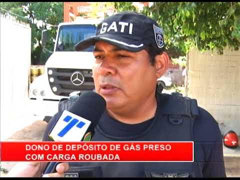 [RONDA GERAL] Quadrilha é presa com carga roubada de gás