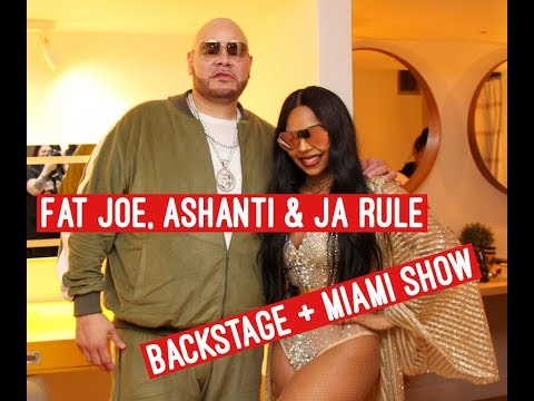 Fat Joe, Ashanti And Ja Rule Perform In Miami - All Access
