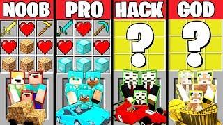 Video Minecraft Battle: REAL LIFE CRAFTING CHALLENGE - NOOB vs PRO vs HACKER vs GOD ~ Minecraft Animation MP3, 3GP, MP4, WEBM, AVI, FLV Juni 2019