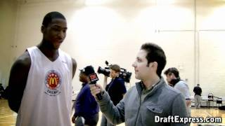 Michael Gilchrist - 2011 McDonald's All American Game (Interview & Practice Highlights)