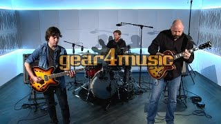 Subzero New Orleans Semi Acoustic Jazz Guitar (Performance)
