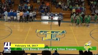 TVHS Boys Basketball vs. Triton Trojans