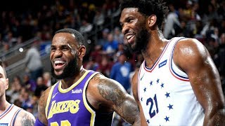 New 76ers Blowout Lakers! Kuzma 39 Pts Embiid 37! 2018-19 NBA Season