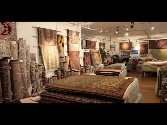 ペルシャ絨毯専門店、アリヤギャラリー