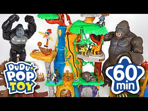 August 2018 TOP 10 Videos 60min Go! Lion guard, Avengers, PJmasks and Transformers #DuDuPopTOY