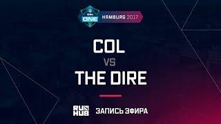 coL vs The Dire, ESL One Hamburg 2017, game 3 [Lum1Sit, Inmate]