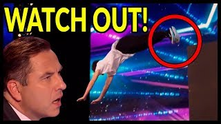 "Video Top 7 NEVER SEEN Judges ""JAW DROPS like NEVER BEFORE"" SHOCKING Acts on Britain's Got Talent! MP3, 3GP, MP4, WEBM, AVI, FLV Maret 2019"