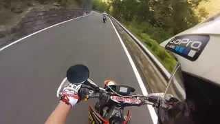 9. Honda cr 125 motard - GoPro