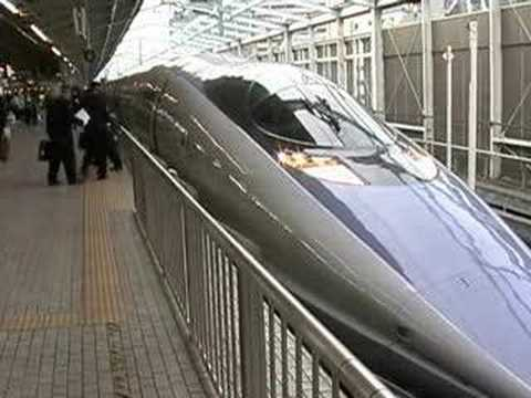 新幹線500系のぞみ@新大阪駅(2) Shinkansen Series 500 NOZOMI