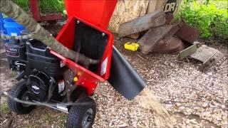 6. DR chipper shredder for gardening