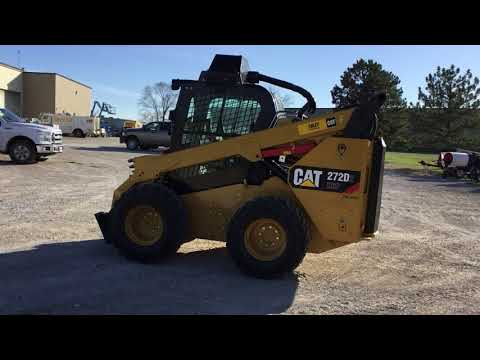 CATERPILLAR CHARGEURS COMPACTS RIGIDES 272D2XHP2C equipment video y1lYaTD0HoY
