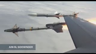 Video Direct Hit: F-16 jet shoots down drone in mid-air target practice MP3, 3GP, MP4, WEBM, AVI, FLV November 2018