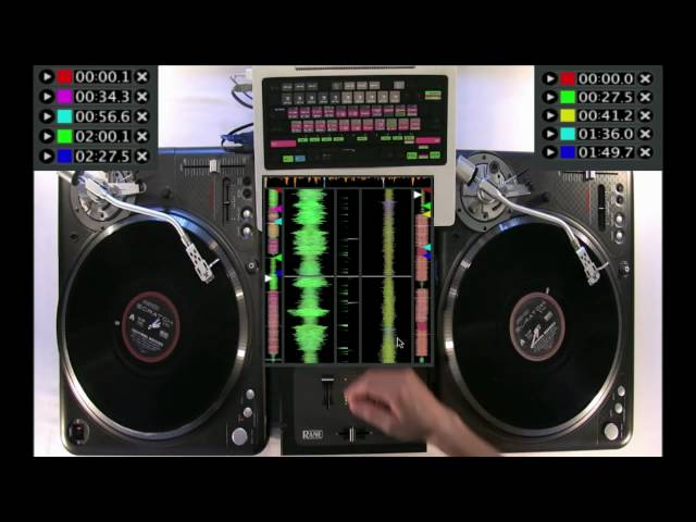 Live re edits with cue points and scratching in Serato Scratch Live