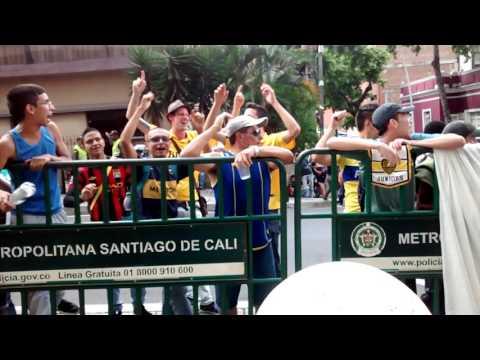 Video Juan Roman Riquelme hinchas colombianos de Boca