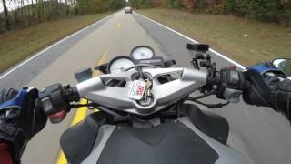 9. 2007 BMW K1200R Quick Ride
