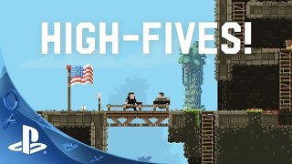 Broforce - PS4 Vote to Play Introduction Trailer