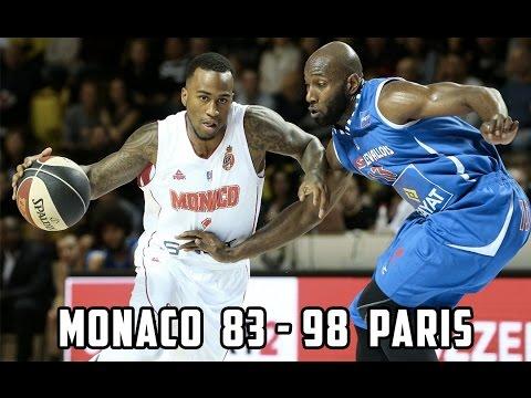 Pro A — Monaco 83 - 98 Paris — Highlights
