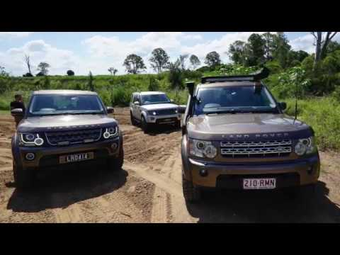 Tuffants And Mud Tyres. Land Rover Discovery 4 / LR4