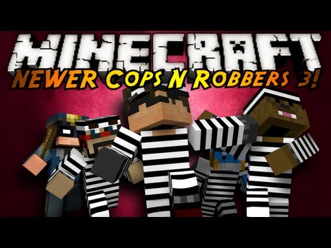 Minecraft Mini-Game : COPS N ROBBERS 3.0 ROUND THREE!