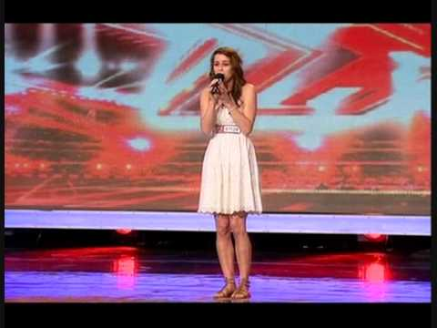 "X FACTOR 2009 – LUCIE JONES SINGS ""I WILL ALWAYS LOVE YOU"""