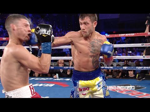 "vasyl lomachenko vs roman ""rocky"" martinez - highlights"