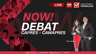 Debat Perdana Capres  Cawapres 2019  Joko Widodo  Jokowi   Ma Ruf Amin Vs Prabowo Sandi  Bag 1
