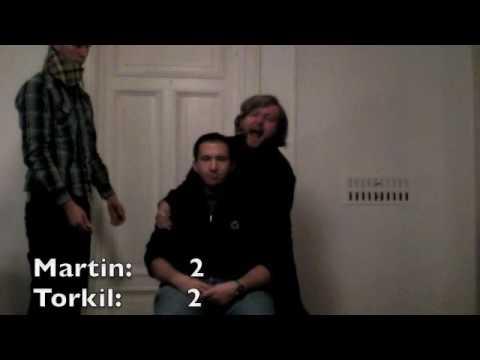 Et enklere NRK - Hvem er sterkest? Martin eller Torkil