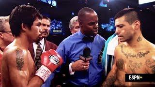 Manny 'Pacman' Pacquiao vs Lucas 'La Maquina' Matthysse | Live July 14, ESPN + | #WhatItDo