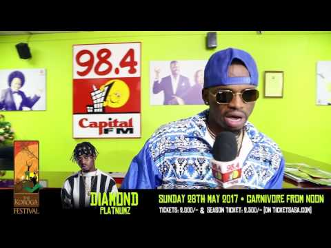 Diamond Platnumz set to bring the house down at the Koroga Festival
