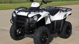 7. $4,299:   2015 Kawasaki Brute Force 300 Bright White Overview and Review!