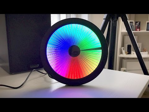 Chromatic LED Color Spectrum Clock Review