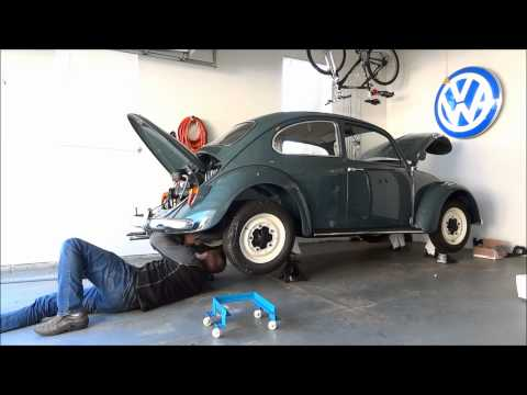 1966 VW Beetle – Engine Install (4X Speed)