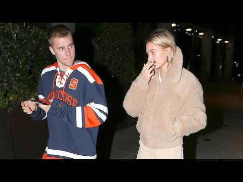 Hailey Baldwin Debuts New Hairstyle On Date Night With Justin Bieber - EXCLUSIVE