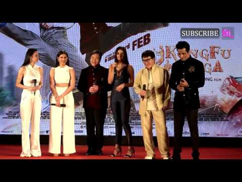 Kung Fu Yoga | Jackie Chan | Sonu Sood | Disha Patani | Amyra Dastur | Press Conference | Part 2